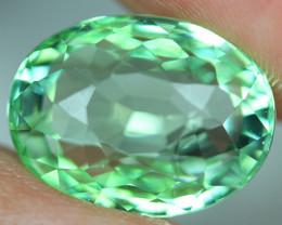 12.03 CT CERTIFIED  Copper Bearing Mozambique Paraiba Tourmaline-PR802