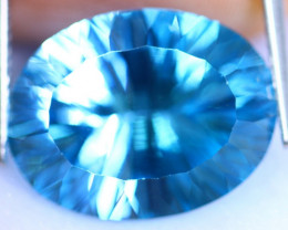 16.16cts Natural Top Cutting Swiss Blue Colour Topaz / RD1200