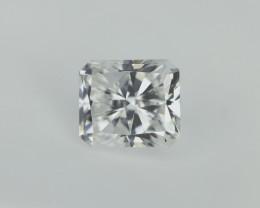 0.52 ct , Modified Radiant Cut Diamond , Rare White Diamond