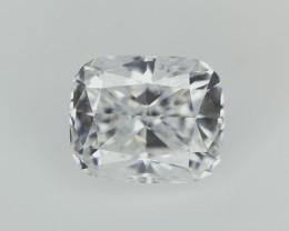 0.61 cts , Cushion Brilliant Cut Diamond , White Diamond