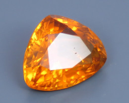 2.30ct Natural Beautiful Colour Trillion Shape Clinohumite From Africa