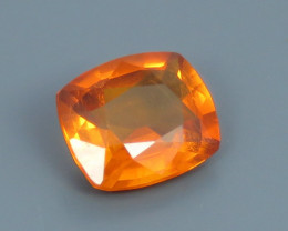 0.60ct Natural Beautiful cushion Cut Clinohumite From Africa