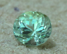 Flawless 1.90 Carat Excellent Oval Cut Natural Mint Green Tourmaline From A