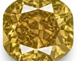 IGI Certified South Africa Fancy Color Diamond, 1.31 Carats, Fancy Brown