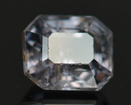 Top Asscher Cut 1.30 CT Dazzling Color Natural Spinel  From Mogok