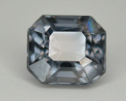 Top Asscher Cut 1.20 CT Dazzling Color Natural Spinel  From Mogok