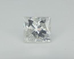 1 carat Diamond , Princess Cut , Natural Diamond
