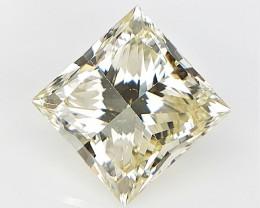 0.84 cts , VS natural Diamond , Princess cut , HD Video