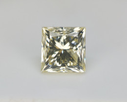 0.71 cts , Princess Brilliant Cut Diamond , Smart Investment