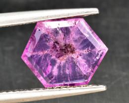 Natural Rare Trapiche Sapphire 2.37 Cts from Kashmir, Pakistan