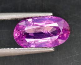 Natural Pink Sapphire 3.03 Cts from Kashmir, Pakistan