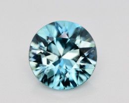 4.20 Ct Gorgeous Color Natural Vibrant Blue Zircon