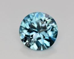 3.35 Ct Gorgeous Color Natural Vibrant Blue Zircon