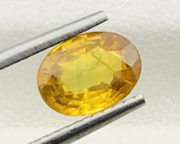 1.45 Carats Yellow Sapphire Gemstone