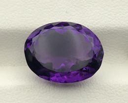 12.85 Carats Amethyst Gemstone
