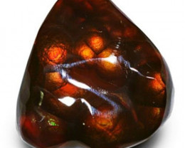 Mexico Fire Agate, 11.74 Carats, Orangish Brown Free Form