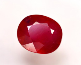 Ruby 9.38Ct Madagascar Blood Red Ruby  ER50/A20
