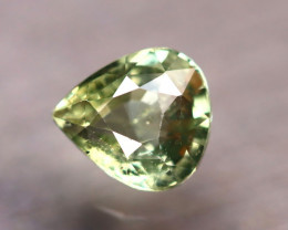 Unheated 2.17Ct Natural Unheated Yellow Sapphire ER59/B32