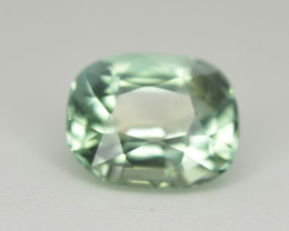 Amazing Color 1.60 Ct Mint Green Tourmaline From Afghanistan