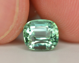 Amazing Color 2.10 Ct Mint Green Tourmaline From Afghanistan