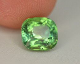 Amazing Color 1.95 Ct Mint Green Tourmaline From Afghanistan