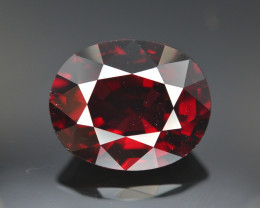 Gorgeous Color 8.60 Ct Almandine Red Garnet. RA