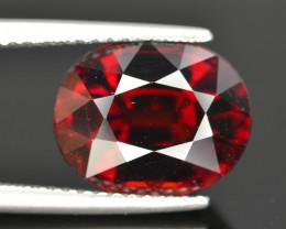 Gorgeous Color 5.90 Ct Almandine Red Garnet. RA