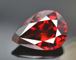 Gorgeous Color 5.85 Ct Almandine Red Garnet. RA