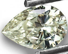 "South Africa Fancy Color Diamond, 0.38 Carats, L (On a Scale of ""D"" to ""Z"")"