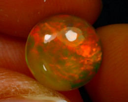 Welo Opal 2.23Ct Natural Ethiopian Play of Color Opal D2332/A3
