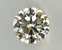 1.03 cts , Round Brilliant Diamond , Light Color Diamond