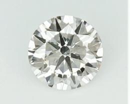 0.23 cts  , Round Diamond , Light Color Diamond