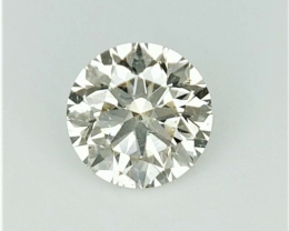 0.36 cts , Round Diamond , Light Color Diamond , WR1143
