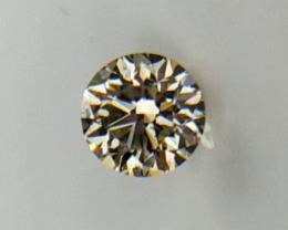 0.19 cts , Yellow Diamond , Light Color Diamond , WR1157