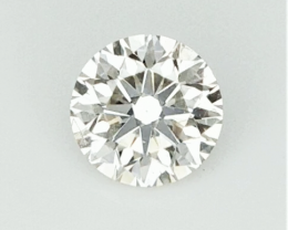 0.21 CTS , Round Natural Diamond , Yellow Natural Diamond , WR1159