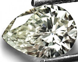 HKD Certified Guinea Fancy Color Diamond, 0.70 Carats, Pear