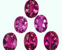 4.64 Cts Natural Sweet Pink Tourmaline Oval Cut Mozambique Parcel