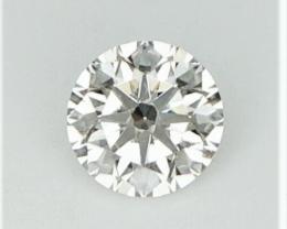 0.36 cts , Round Diamond , Round Brilliant Cut , Light Yellow , WR1168