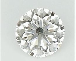 0.328 CT , Light Yellow Diamond , Natural Round Diamond , WR1172