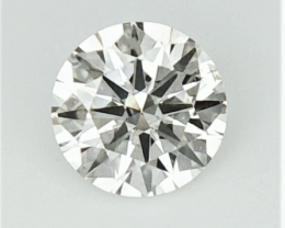 0.295  , Off White Diamond , Round Excellent Cut , WR1177
