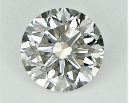 0.23 CT , Round Diamond , Light Color Diamond ,  WR1187