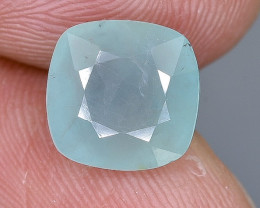 2.55 Crt Natural Grandidierite Faceted Gemstone.( AB 51)