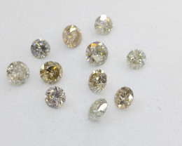 1.21ct  Diamond Parcel  , 100% Natural Untreated