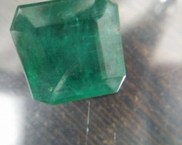 Huge 28.40cts Colombian   Emerald , 100% Natural Gemstone