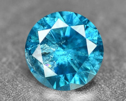 0.15 Cts Sparkling Rare Fancy Intense Blue Color Natural Loose Diamond