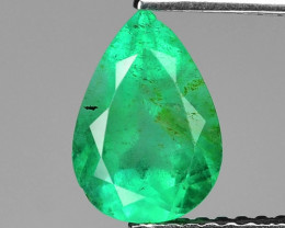1.50 Cts Natural Earth Mined Green Color Colombian Emerald Gemstone