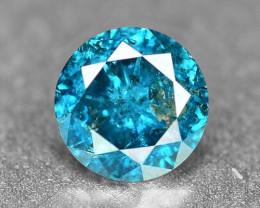 0.16 Cts Sparkling Rare Fancy Intense Blue Color Natural Loose Diamond