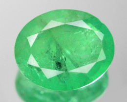 1.85 Cts Natural Earth Mined Green Color Colombian Emerald Gemstone
