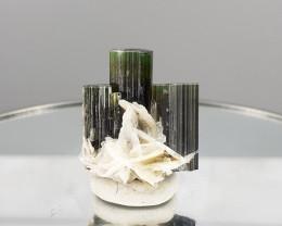 49.00Cts  Green Cap  Tourmaline Specimens From PAK