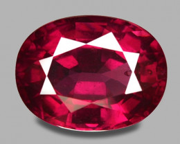 5.94 Cts Unheated Natural Cherry Red Rhodolite Garnet Gemstone